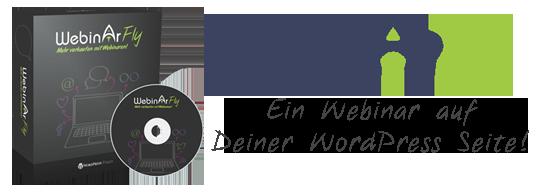 Webinarfly Ein Webinar auf deiner WordPress Seite